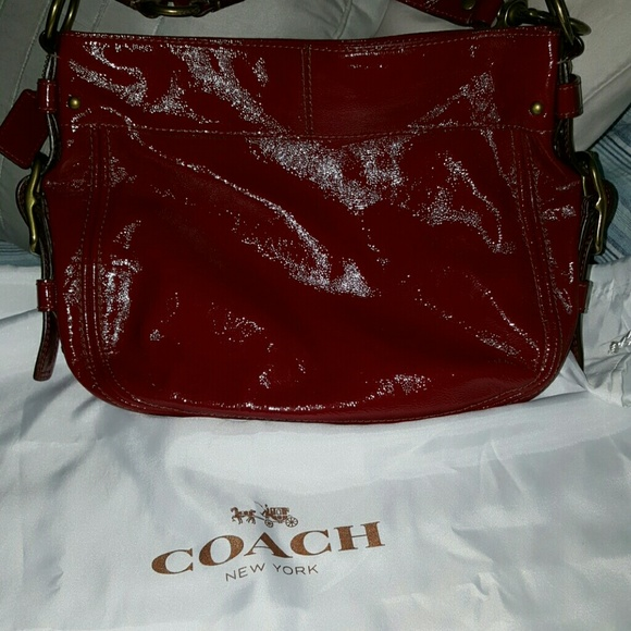 Coach Handbags - Red coach bag
